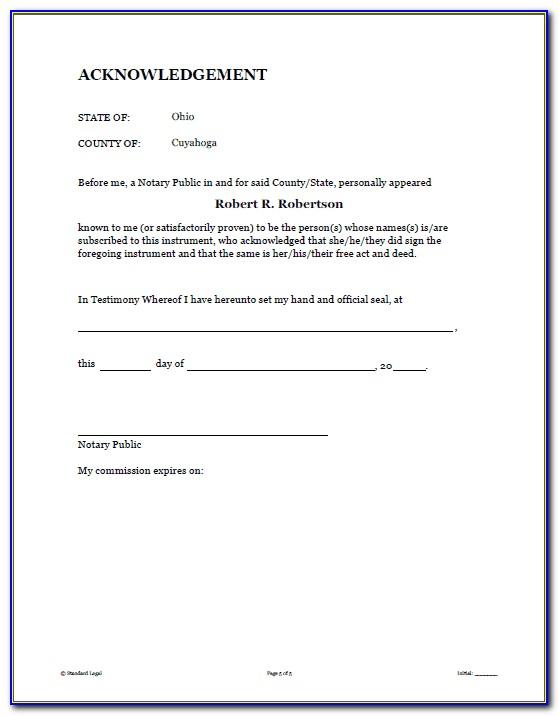 Basic Florida Power Of Attorney Form