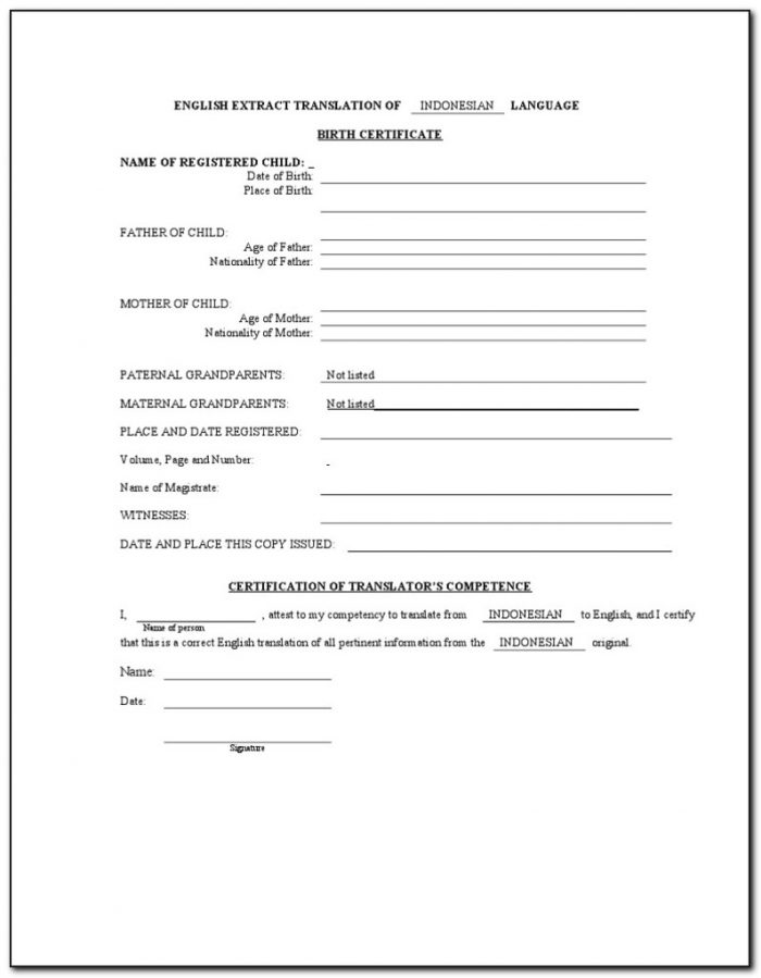 birth-certificate-translation-form-for-uscis-700x899 Citizenship Form N Application Print on citizenship forms 2014, application for naturalization n-400, print n-400, citizenship preparation materials,