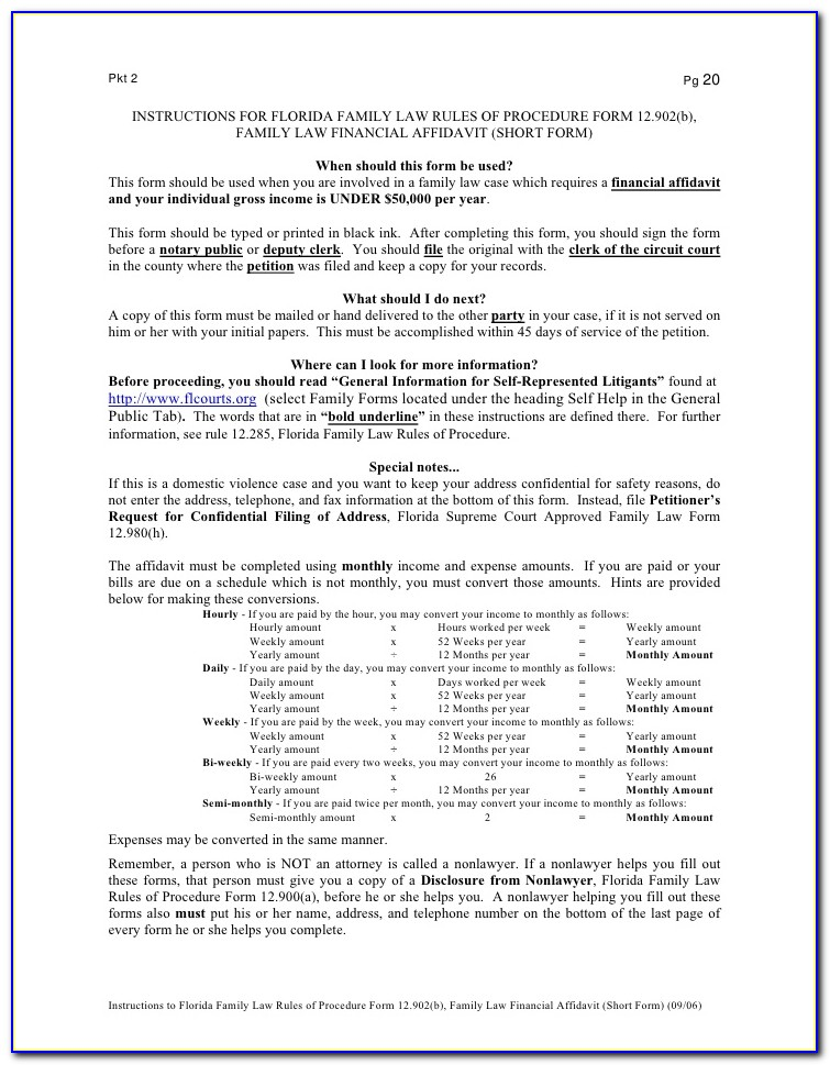 Broward County Court Forms