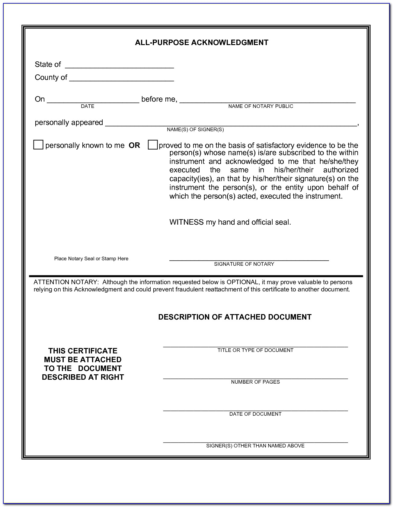 Ca Notary Sample Test
