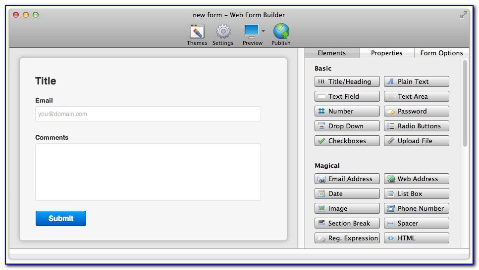 Coffee Cup Web Form Builder Download