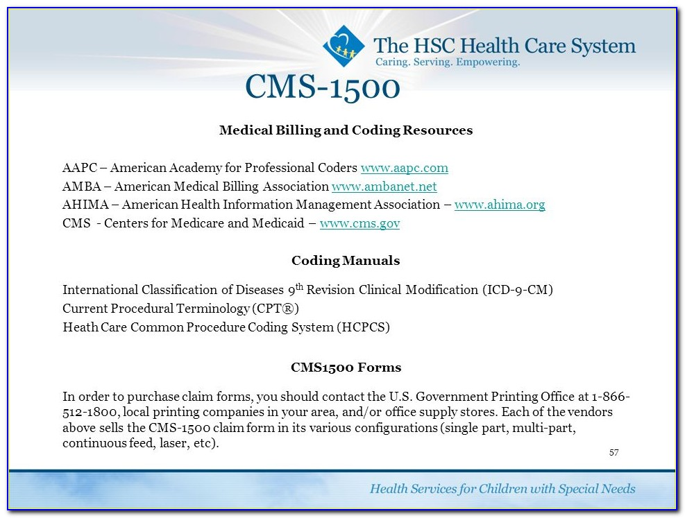 Companies That Sell The Cms 1500 Claim Form