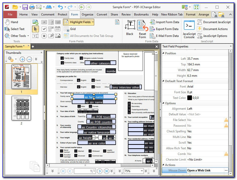 Convert Pdf Into Form Fillable Free Fresh Tracker Software Products Pdf Xchange Pro World S Best Pdf