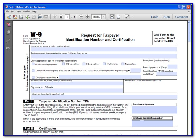Create Fillable Pdf Forms From Existing Documents