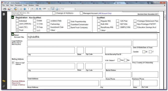 Creating Forms In Pdf