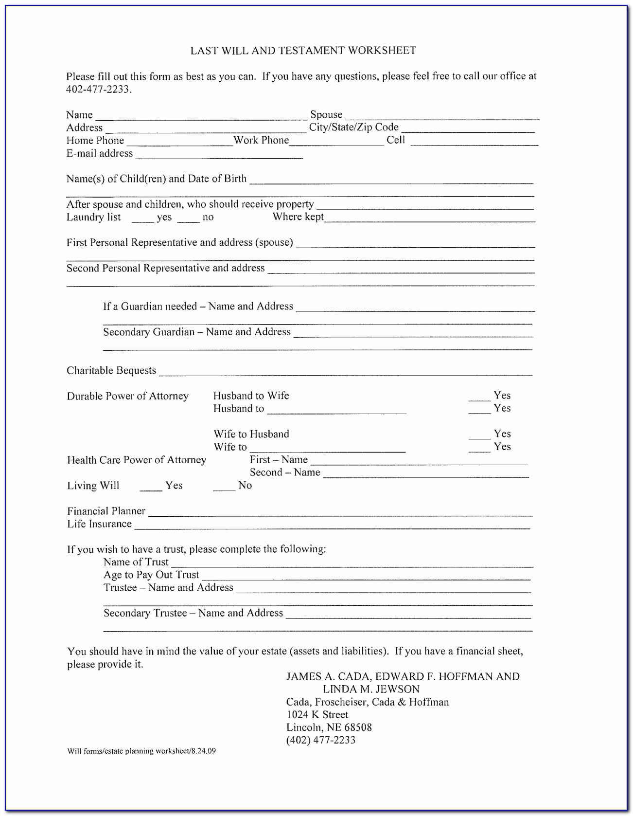 Designation Of Health Care Surrogate Florida Form