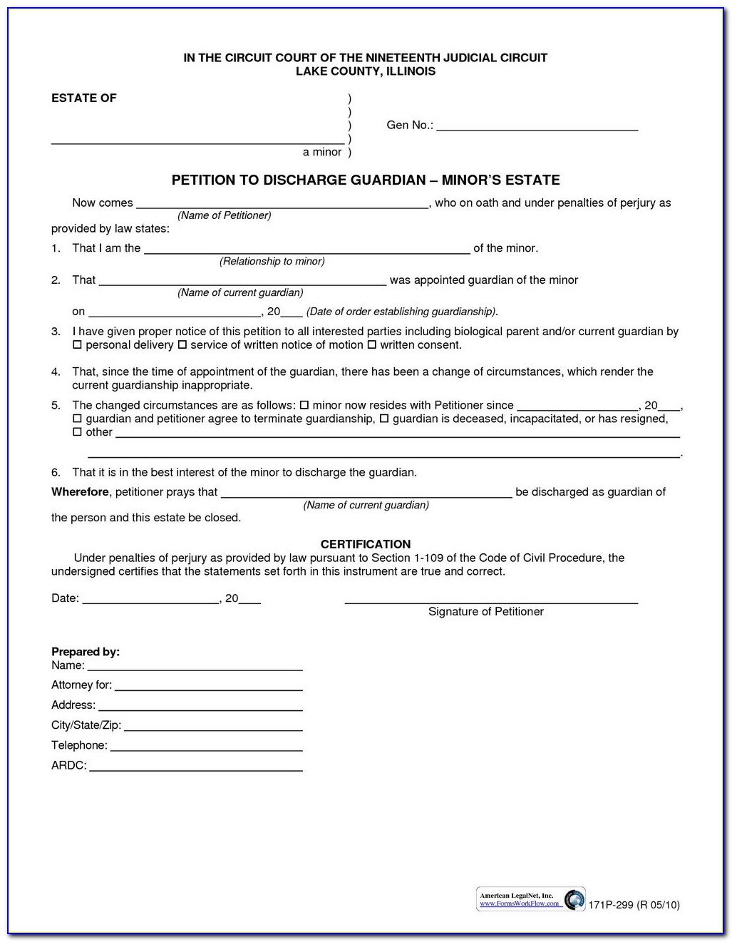 Divorce Paperwork Illinois