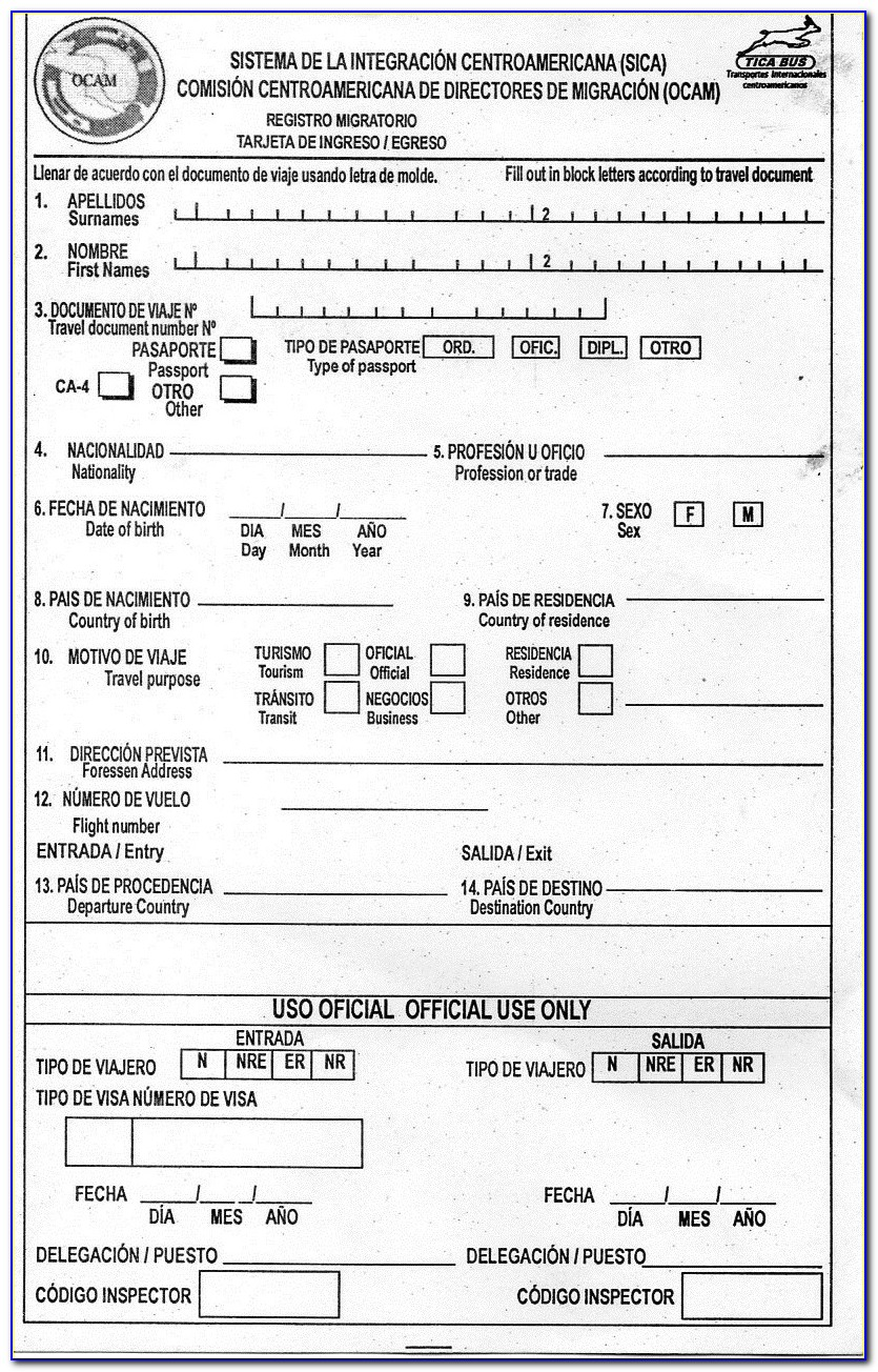 Download Guyana Passport Renewal Form