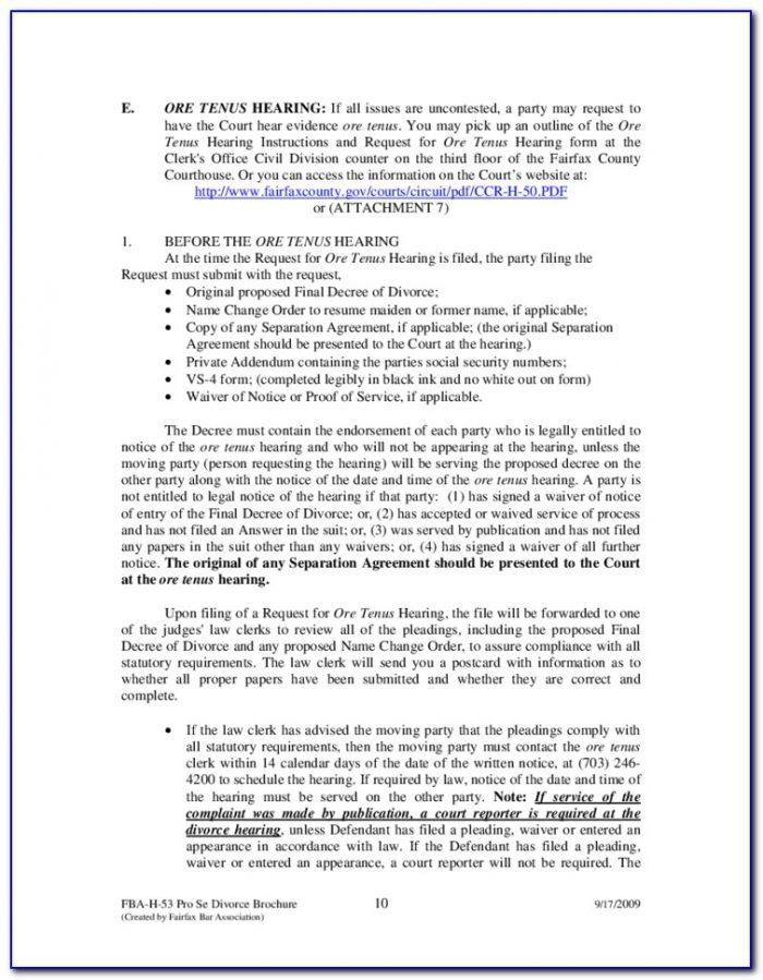 Fairfax County Va Court Forms