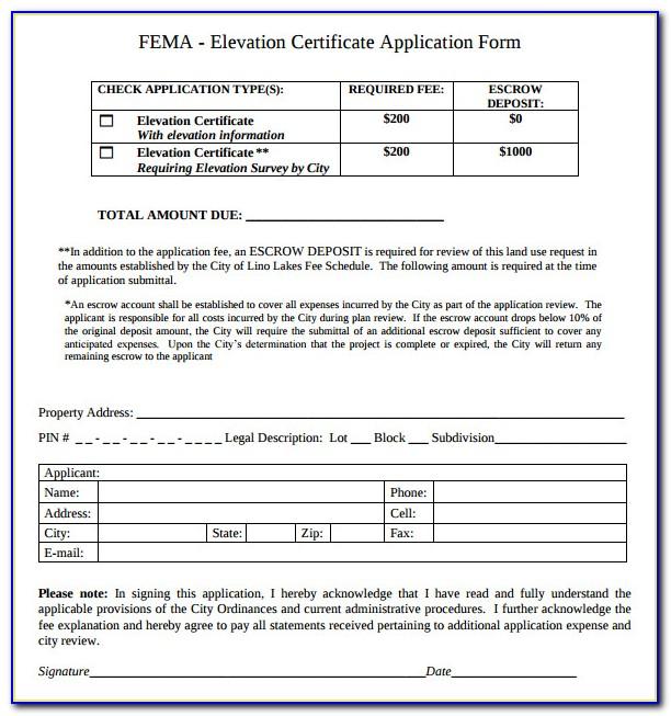 Fema Lomr Application Forms