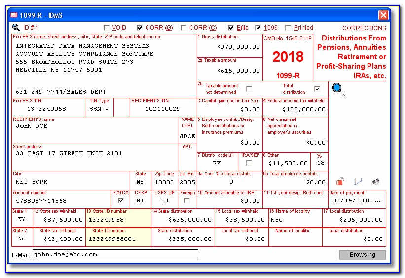 Filing 1099 Forms For Employees