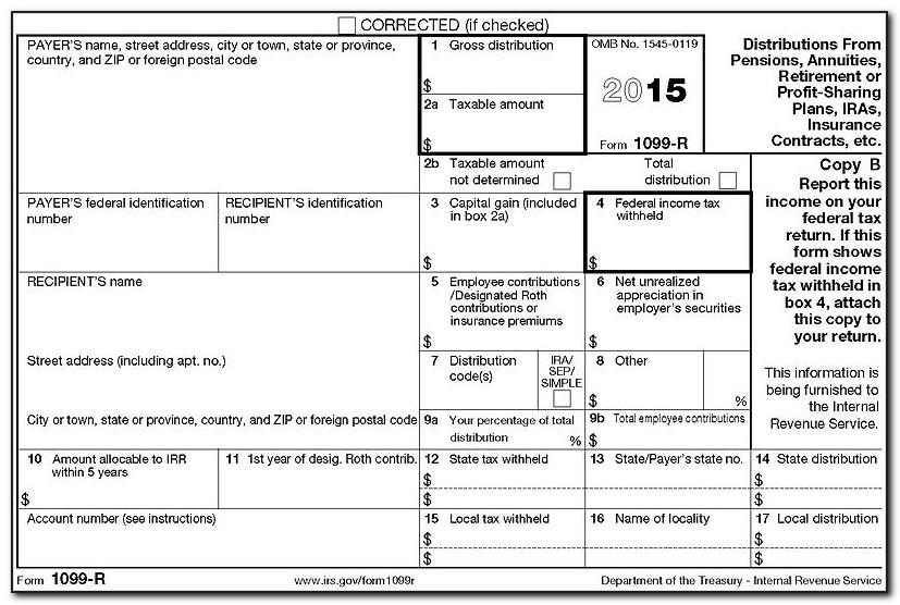 Filing Form 1099 B