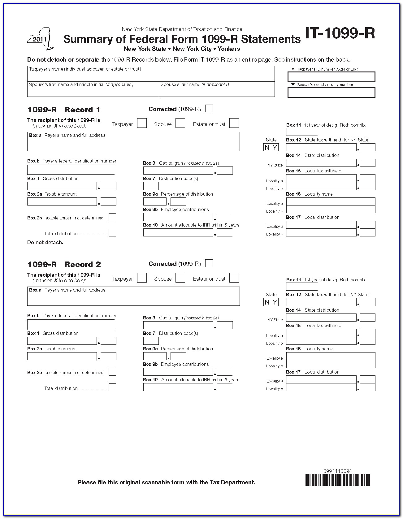 Fill In 1099 Misc Form Free