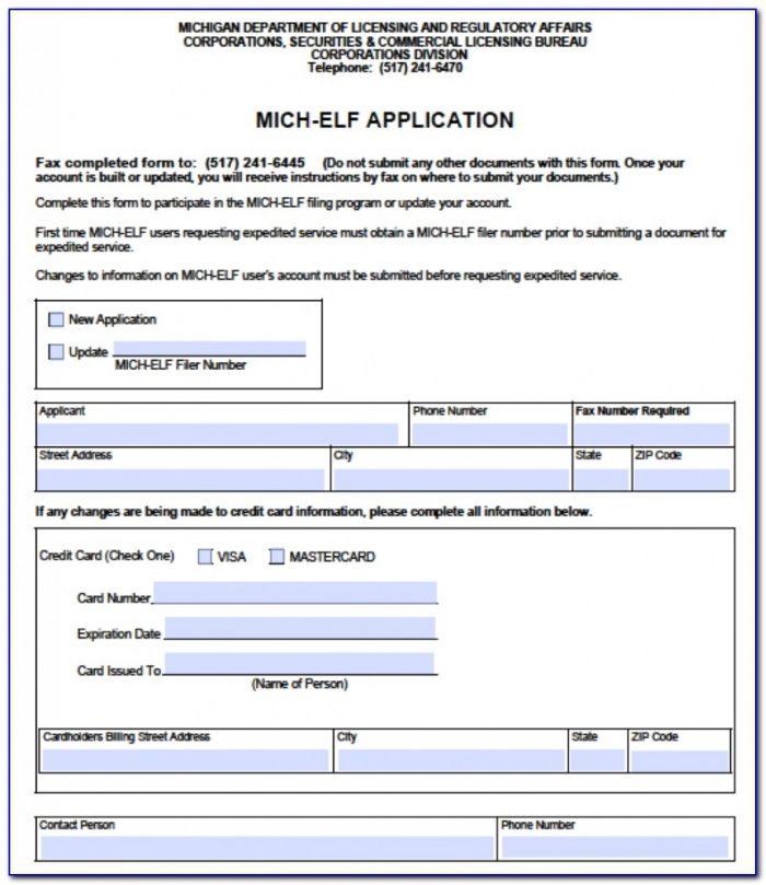 Forming An Llc In Michigan .gov