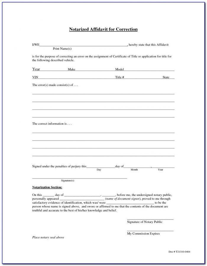 Free California Small Estate Affidavit Form