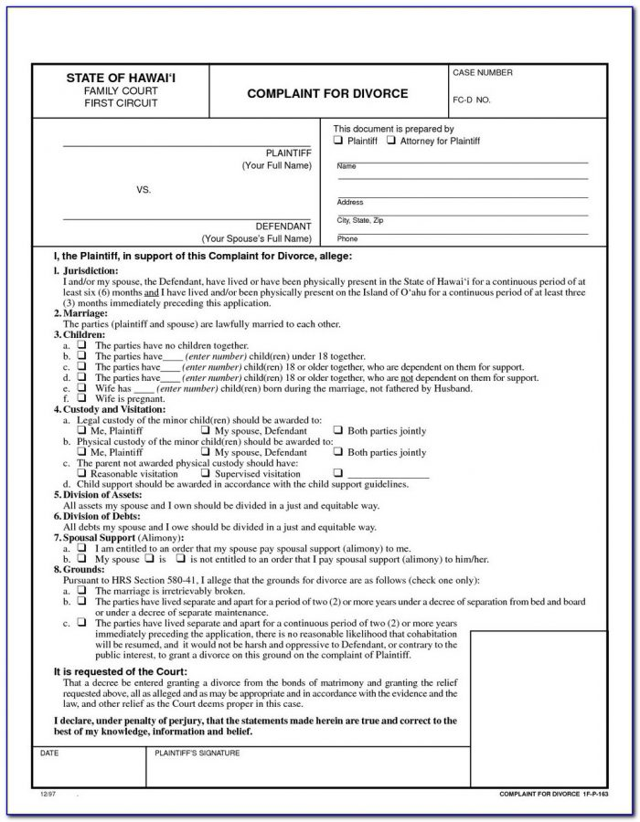 Free Divorce Forms Harris County Texas