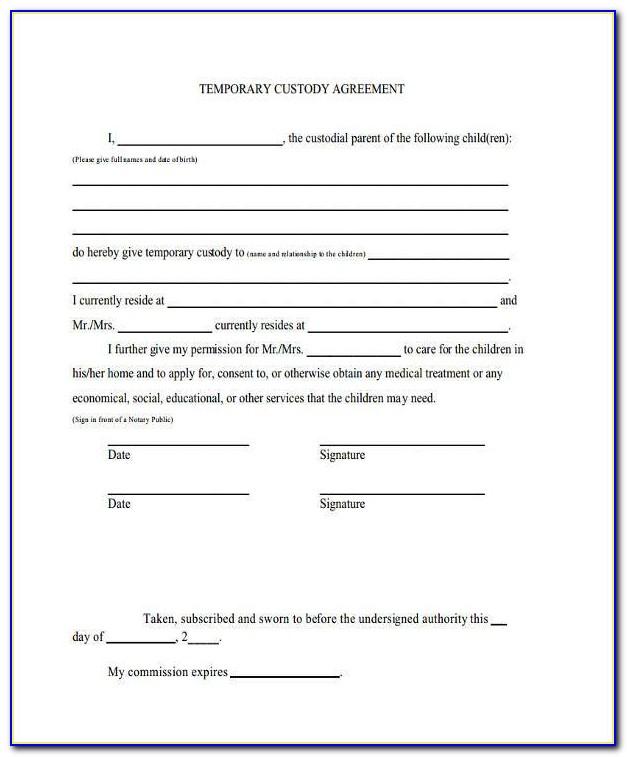 Free Online Child Custody Forms