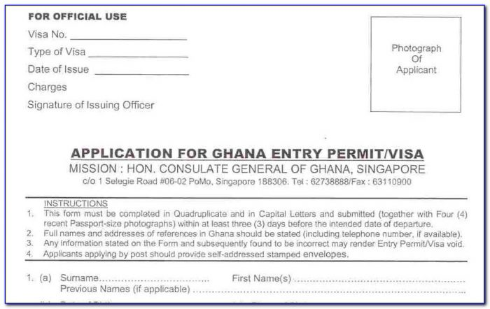 Ghana Passport Renewal Form Uk