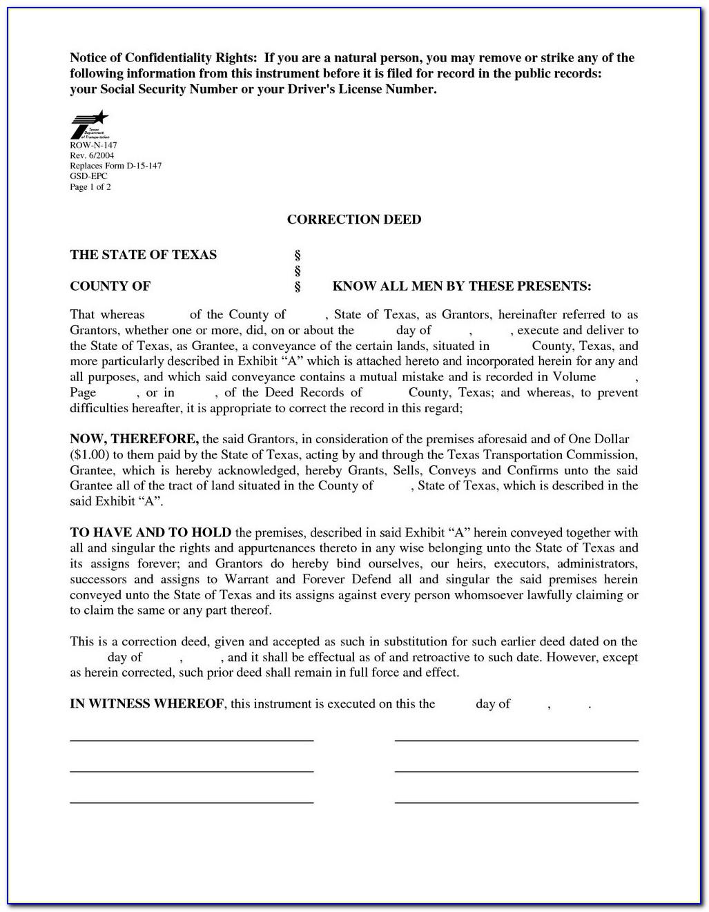 Grant Deed Form Sacramento County California