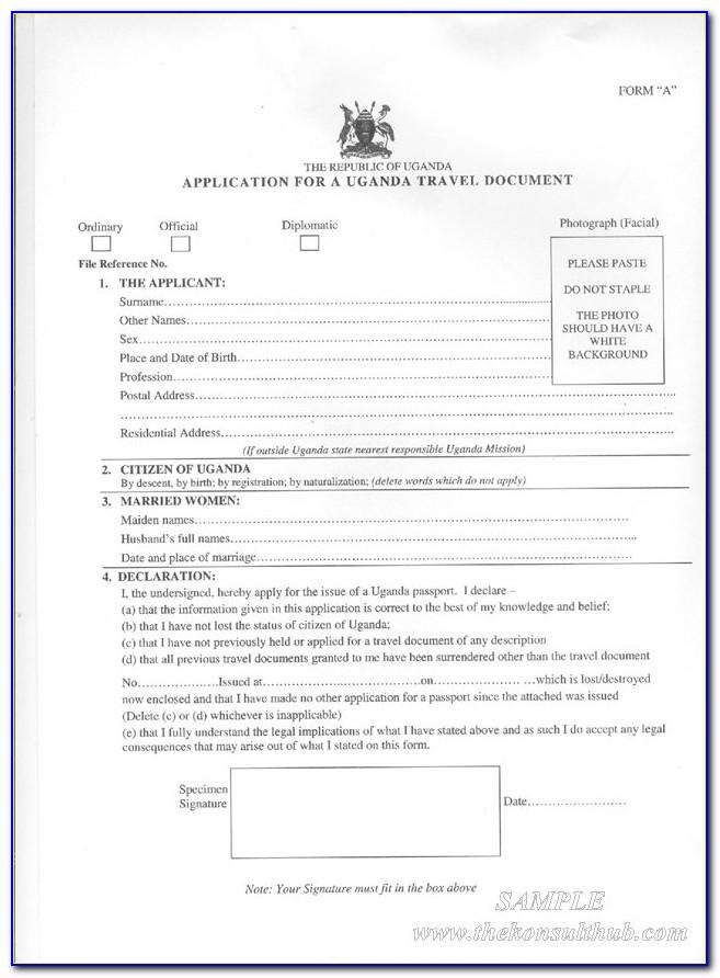 Guyana Passport Renewal Form Canada