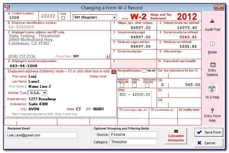 How To Retrieve W2 Forms Online
