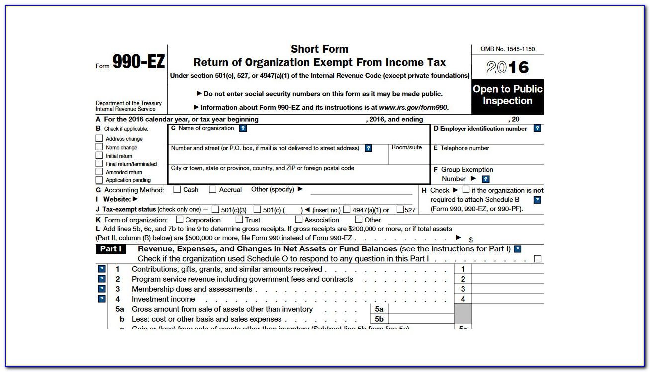 Irs Form 990 N User Guide