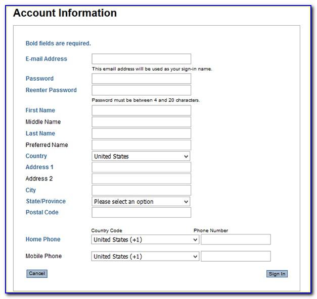 Jetblue Application Form