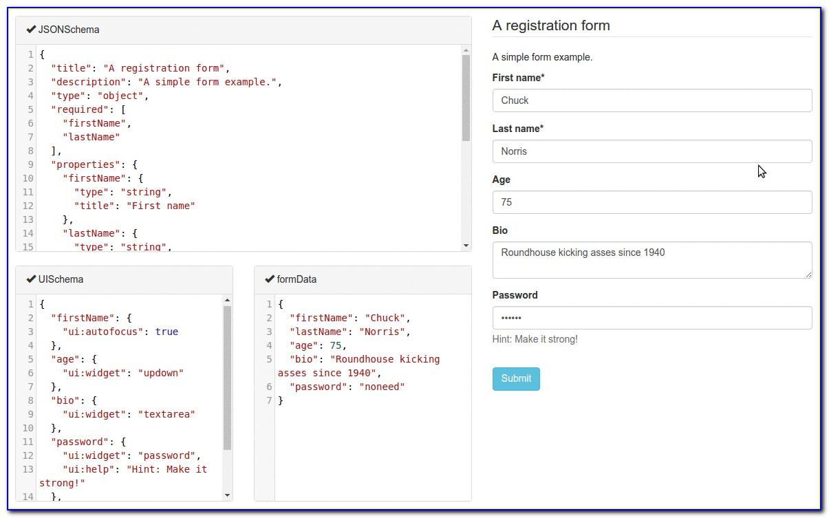 Json Schema Form Generator Online (3)