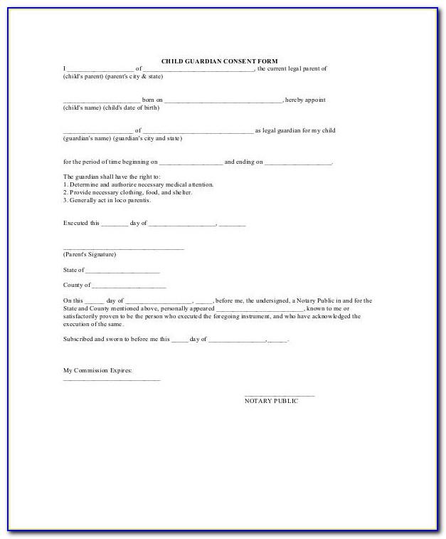 Legal Guardianship Forms Child Louisiana