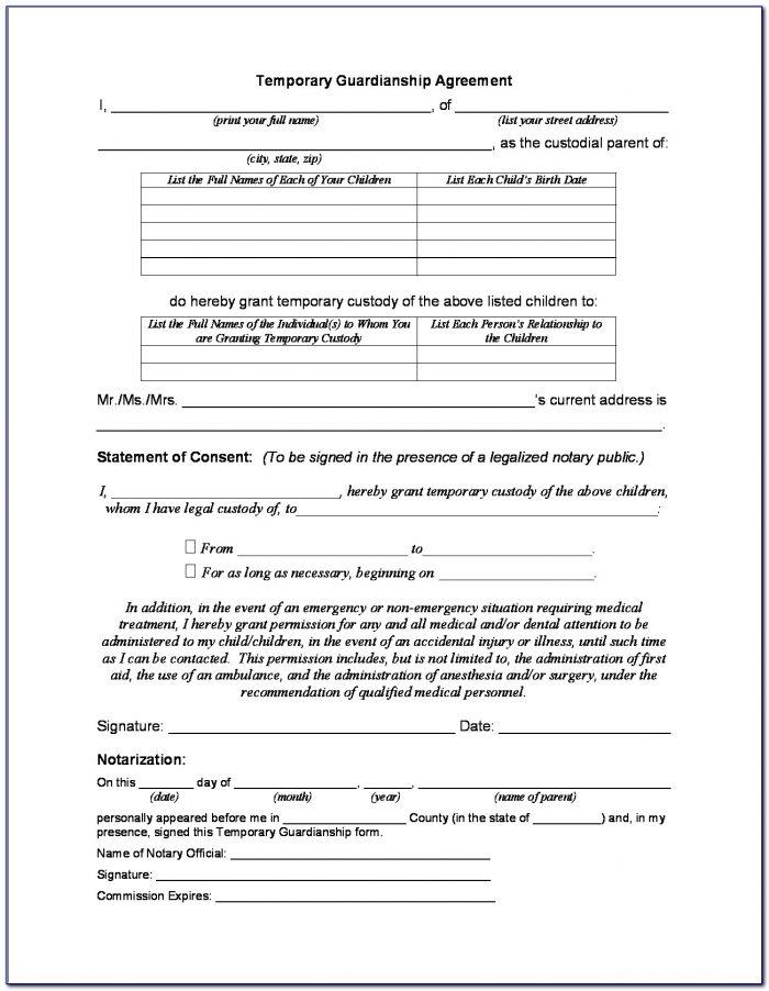 Louisiana Temporary Child Custody Forms