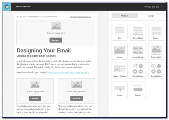 Mailchimp Custom Form Templates