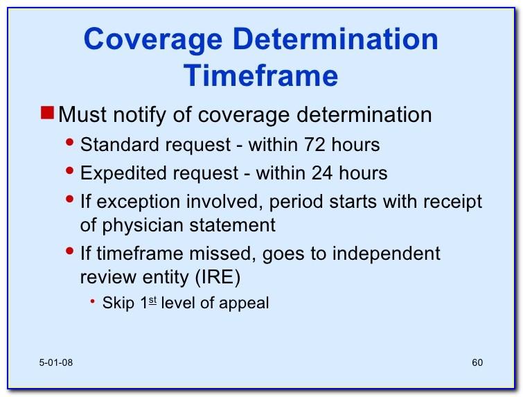 Medicare Part D Coverage Determination Request Form Fax
