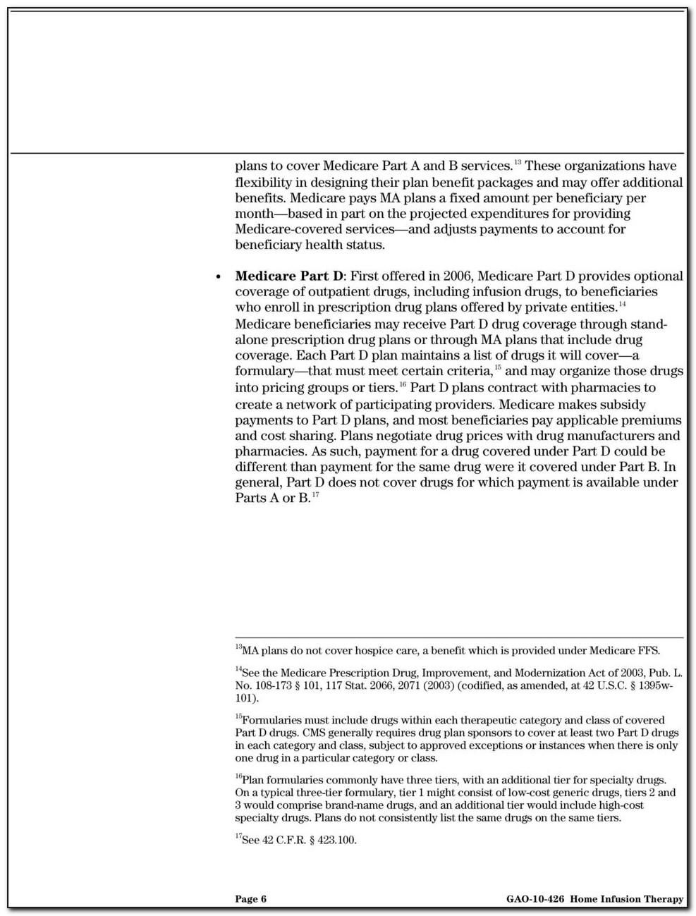 Medicare Part D Formulary Exception Form