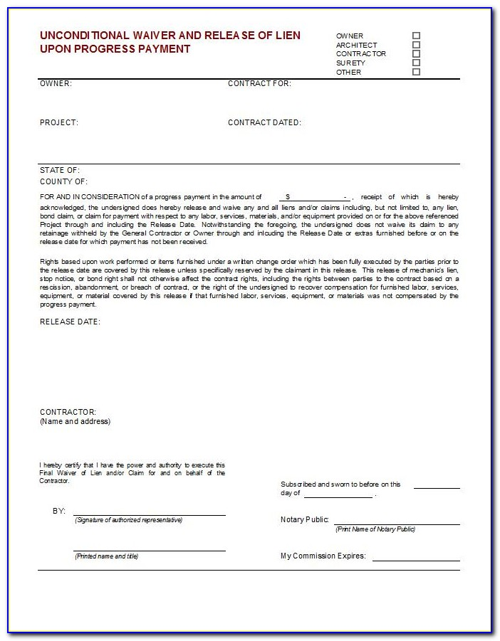 Michigan Construction Lien Law Notice Of Commencement
