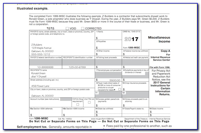Misc 1099 Form 2015