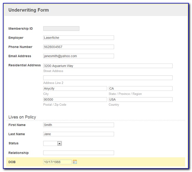 New Client Onboarding Form