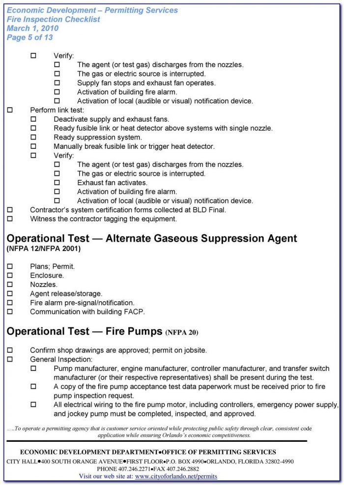 Nfpa Weekly Fire Pump Test Form