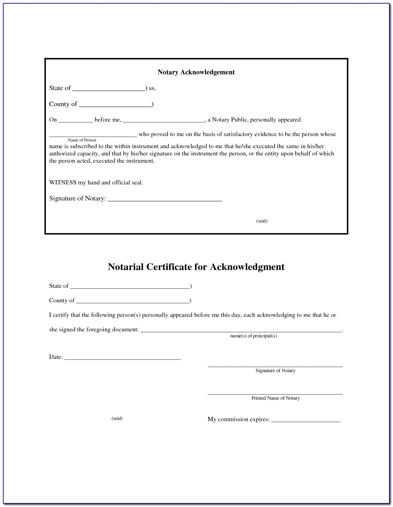 Notary Sample Forms Philippines