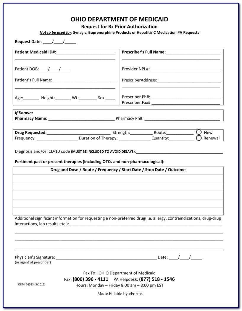 Ohio Medicaid Renewal Form Online