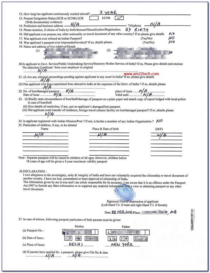 Passport Renewal Application Form Uk Pdf
