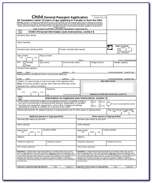 Passport Renewal Forms Trinidad