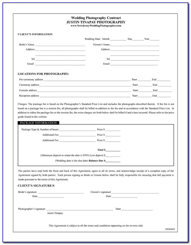 Photography Consent Form Template Word