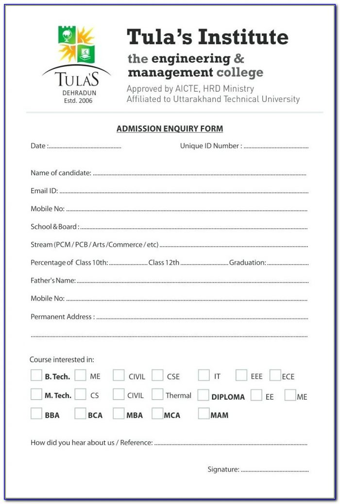 Prenuptial Enquiry Form Singapore