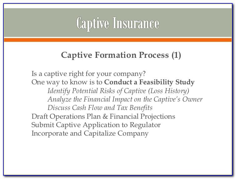 Reasons To Form A Captive Insurance Company
