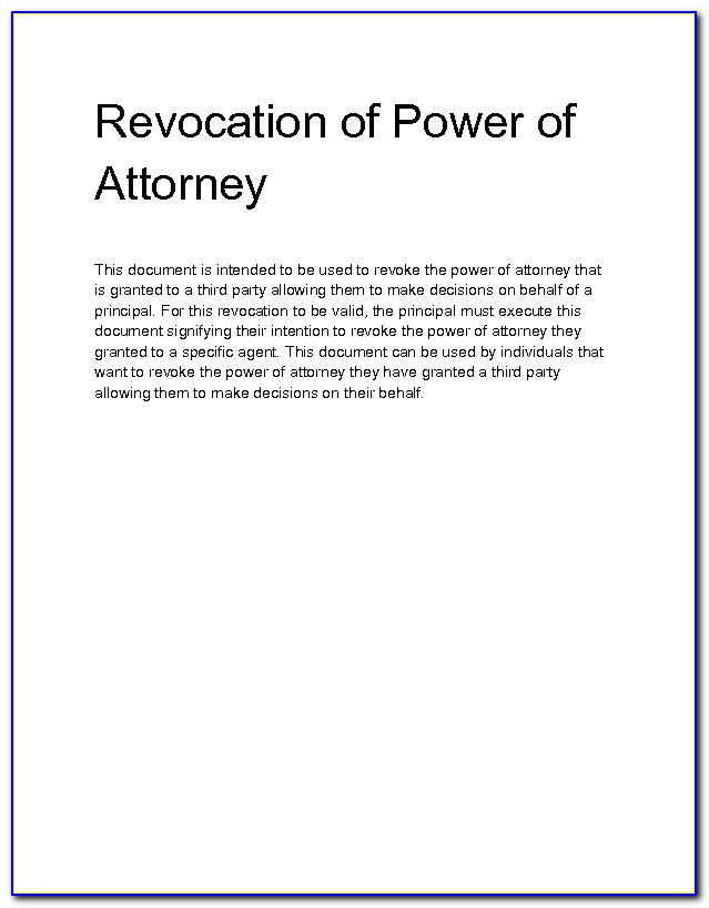 relinquish power of attorney form  Relinquish Power Of Attorney Form - Form : Resume Examples ...
