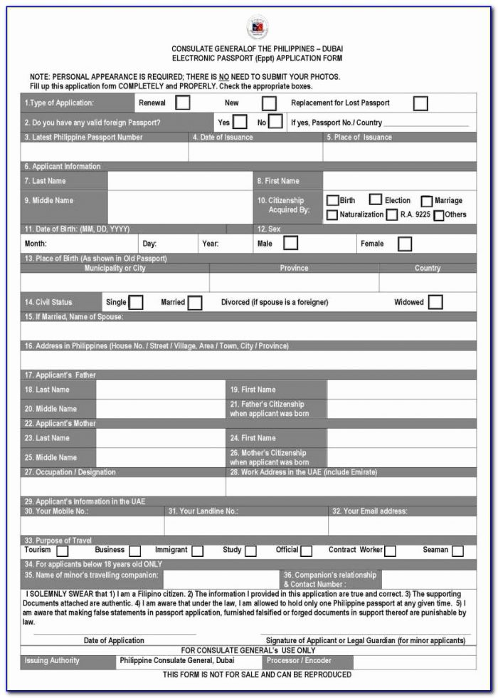 Renewal Passport Application Form Online New How To Apply For Passport Renewal In Dubai Howsto Co