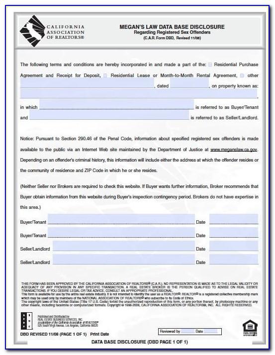 Rent Back Agreement Form California