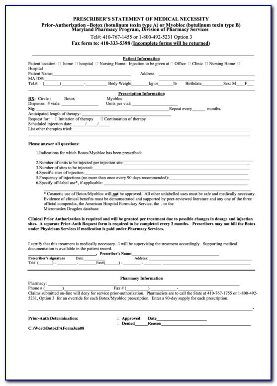Silverscript Medicare Part D Coverage Determination Request Form