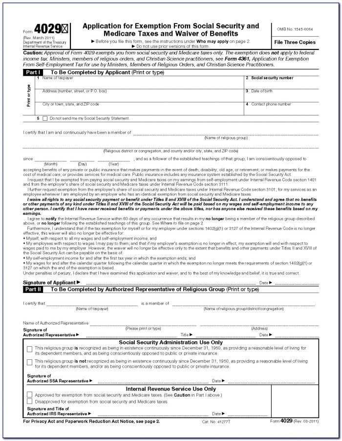 Social Security Disability Application Form Printable