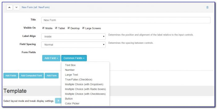 Sql Web Form Builder